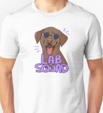 CHOCOLATE LAB SQUAD Unisex T-Shirt
