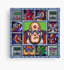 Megaman X bosses Canvas Print