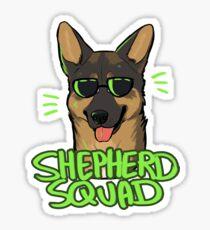 SHEPHERD SQUAD Sticker