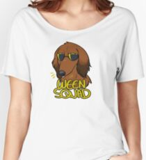 RED WEEN SQUAD Women's Relaxed Fit T-Shirt