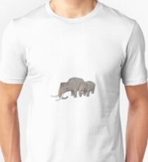 Palaeoloxodon falconeri, the dwarf elephant Unisex T-Shirt