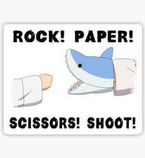 Rock! Paper! Scissors! Shoot! Sticker