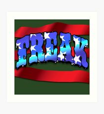 Freak Flagg Art Print