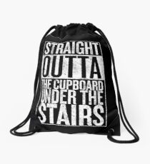Straight out of the Cupboard Drawstring Bag