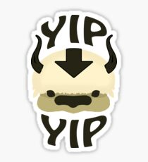 YIP YIP APPA! Sticker