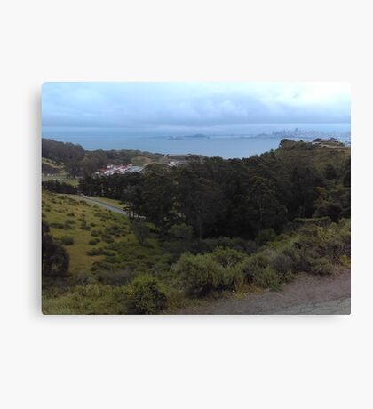 Green Hills, Golden Gate Canvas Print