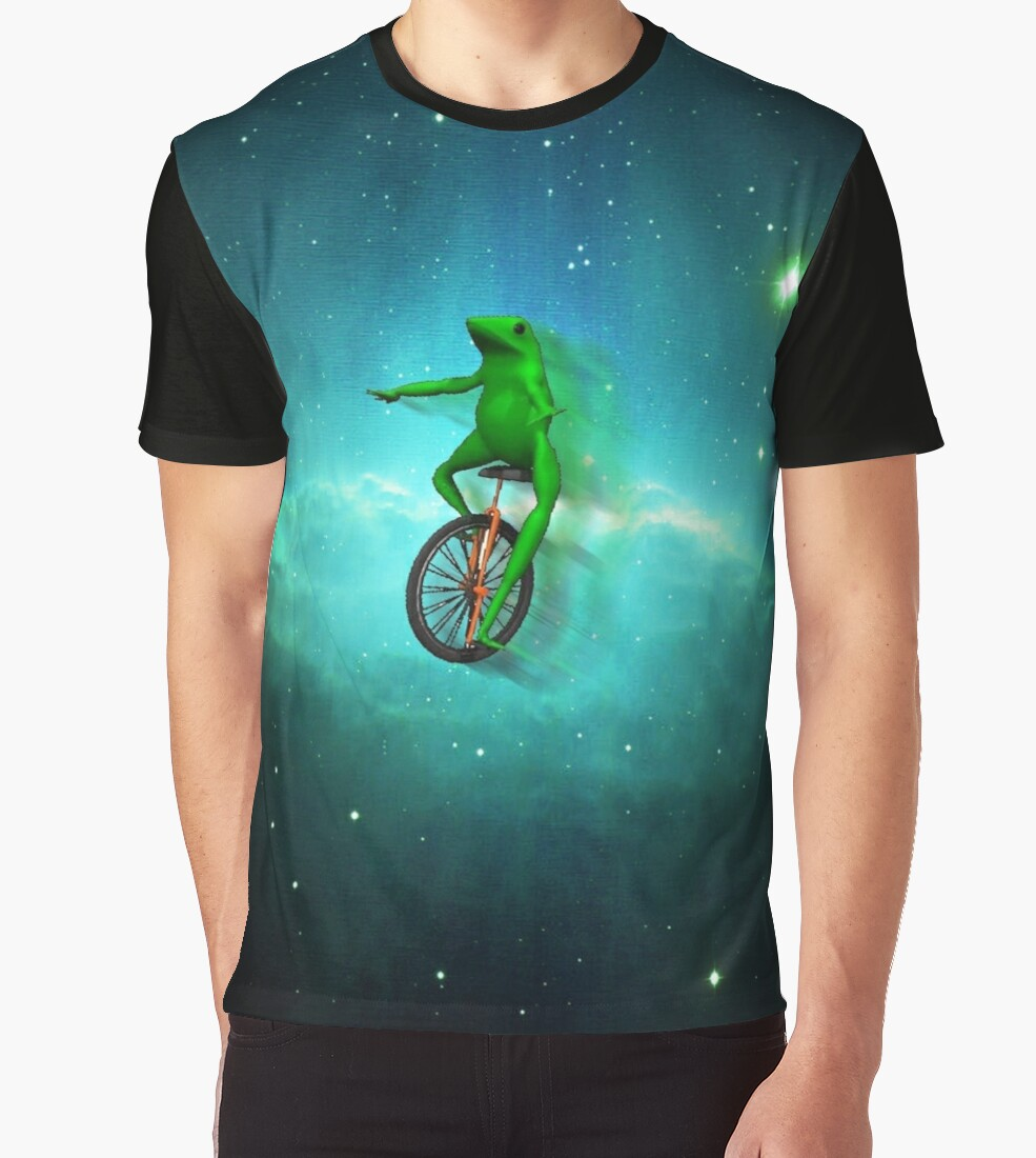 Dat Boi In Space Graphic T Shirts By Freevelocity