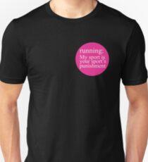 Running: My Sport Pink T-Shirt