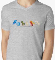 The Last Bender Pony Men's V-Neck T-Shirt