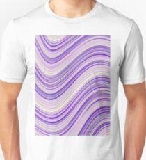 Wavy Purple Stripes T-Shirt