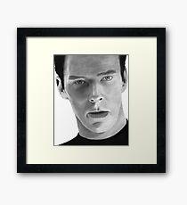 Benedict Cumberbatch - John Harrison - Khan Framed Print