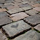 cobblestone love heart by Martin Pot