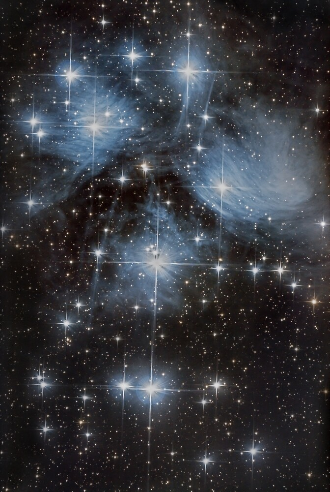 The Pleiades Star Cluster by galactichunter