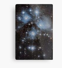 The Pleiades Star Cluster Metal Print