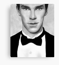 Sherlock - Benedict Cumberbatch Canvas Print
