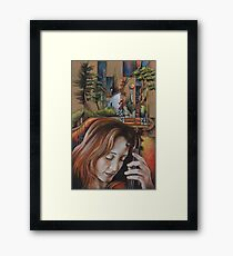 Back to the Music Framed Print