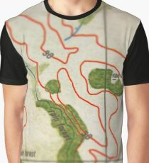 Map 2015 Graphic T-Shirt