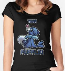 Team Popplio Women's Fitted Scoop T-Shirt