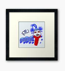Ello! I'm Just a Worm Framed Print
