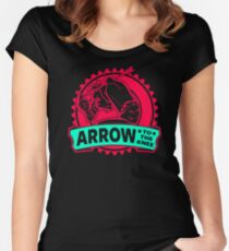 An Arrow In The Knee Women's Fitted Scoop T-Shirt