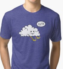 Friendly Cloud : Why there's a pot of gold at the end of every rainbow Tri-blend T-Shirt