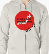 Nissan Cube Owners Club - The Motherland Zipped Hoodie