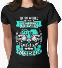 She loves her tow truck driver T-Shirt