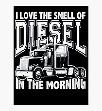 Truck driver Photographic Print