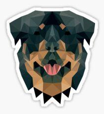 Pegatina Rottweiler Geo