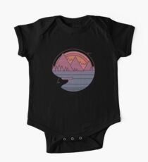 The Mountains Are Calling One Piece - Short Sleeve