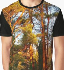 Woodland Walks Graphic T-Shirt