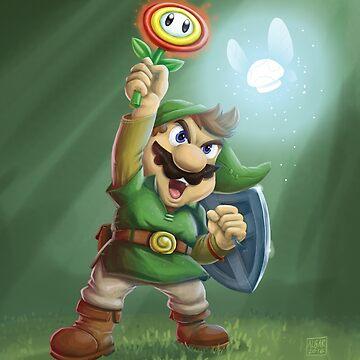 The Legend of Mario by jimalgar