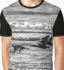 Flight of the Cormorants.  Graphic T-Shirt