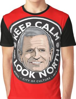 Keep Calm with Peter Levy Graphic T-Shirt