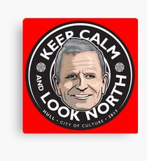 Keep Calm with Peter Levy Canvas Print