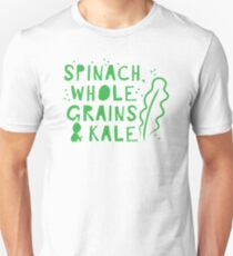 Spinach whole grains and kale T-Shirt