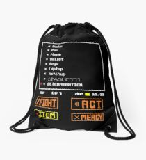 Retrieve your DETERMINATION! Drawstring Bag