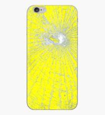 Broken Glass 2 iPhone Yellow iPhone Case