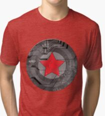 Winter Solider Shield Tri-blend T-Shirt