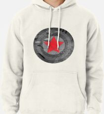 Winter Solider Shield Pullover Hoodie