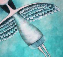 Spread your wings Sticker