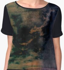 Mixed Messages Abstract Women's Chiffon Top