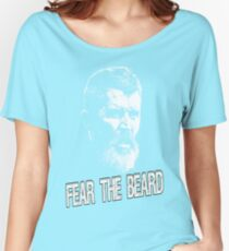 Roy Keane: Fear The Beard Women's Relaxed Fit T-Shirt