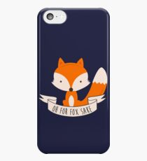 Oh For Fox Sake iPhone 5c Case