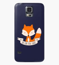 Oh For Fox Sake Case/Skin for Samsung Galaxy