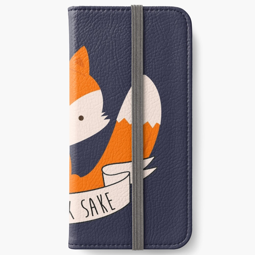 Oh For Fox Sake iPhone Wallet