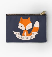 Oh For Fox Sake Studio Pouch