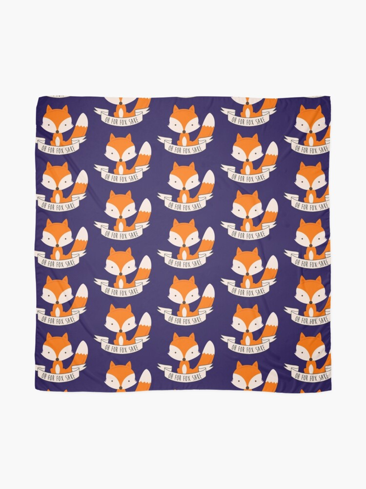 Alternate view of Oh For Fox Sake Scarf