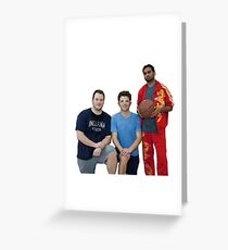 Parks and Rec- Basketball Team Greeting Card