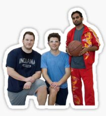Parks and Rec- Basketball Team Sticker
